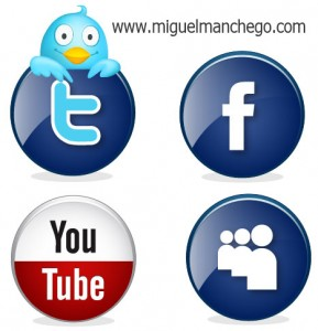 twitter facebook youtube myspace icons