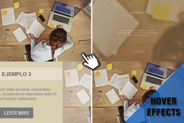 CSS3: Efectos hover para imágenes
